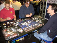 BSG Board Game in action